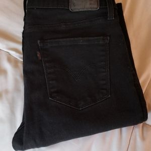 Levis high rise super skinny jeans